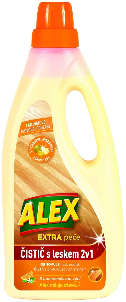 Alex 2 v 1 - na laminát / 750 ml