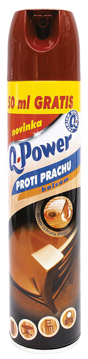 Q-Power spray - proti prachu / balsam
